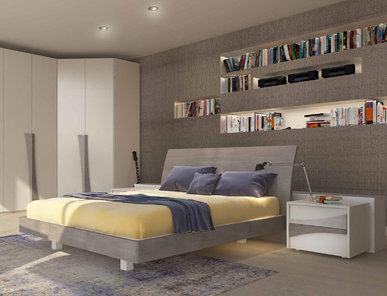 Итальянская кровать WING фабрики MAZZALI