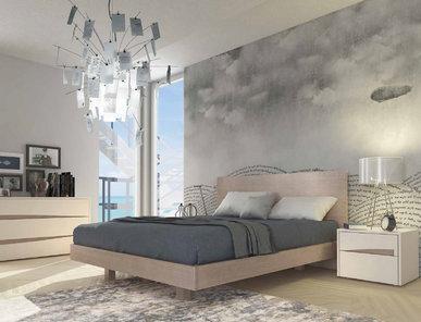 Итальянская кровать SIPARIO фабрики MAZZALI