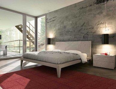 Итальянская кровать DECO фабрики MAZZALI