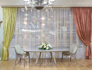 В шоу-руме: итальянские шторы современные фабрики RUBELLI