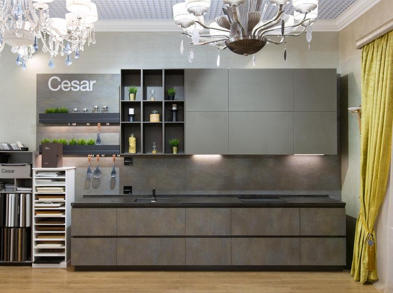 В шоу-руме: итальянская кухня Maxima 2.2 фабрики Cesar