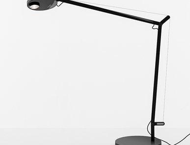 Итальянская настольная лампа Demetra Professional Black фабрики ARTEMIDE