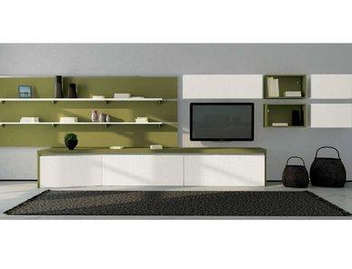 Итальянская мебель для ТВ ASIA 01 фабрики GICINQUE CUCINE