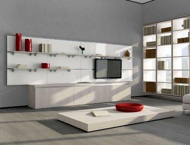 Итальянская мебель для ТВ ASIA 03 фабрики GICINQUE CUCINE