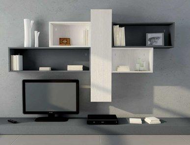 Итальянская мебель для ТВ ASIA 04 фабрики GICINQUE CUCINE