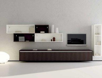 Итальянская мебель для ТВ ASIA 05 фабрики GICINQUE CUCINE