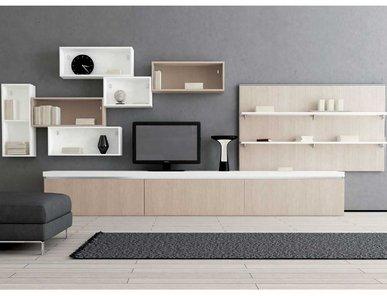 Итальянская мебель для ТВ ASIA 06 фабрики GICINQUE CUCINE