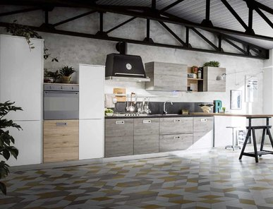 Итальянская кухня OSLO 05 фабрики GICINQUE CUCINE