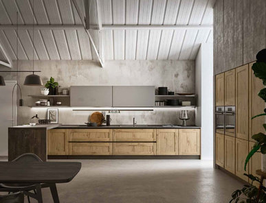 Итальянская кухня TIME 02 фабрики GICINQUE CUCINE