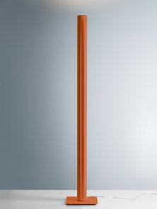 Итальянский торшер Ilio Orange amber фабрики ARTEMIDE