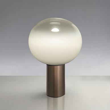 Итальянская настольная лампа Laguna 37 Satin Bronze фабрики ARTEMIDE
