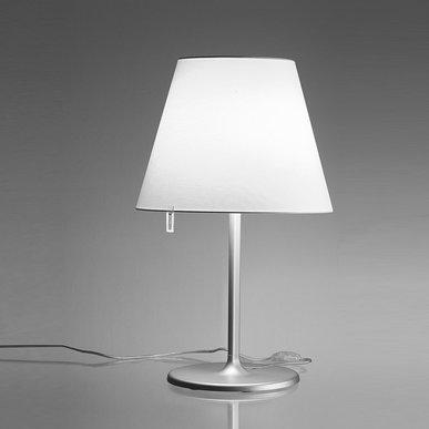 Итальянская настольная лампа Melampo Grey фабрики ARTEMIDE