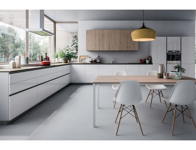 Итальянская кухня Space Profile-C фабрики Ca'd'Oro