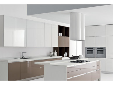 Итальянская кухня Space Profile-I фабрики Ca'd'Oro