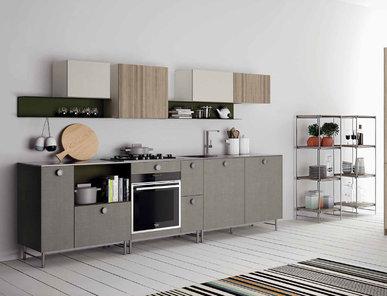 Итальянская кухня FJORD 01 фабрики DOIMO CUCINE