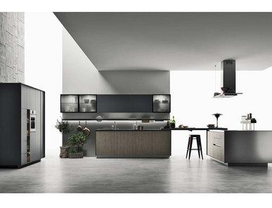 Итальянская кухня SOHO 03 фабрики DOIMO CUCINE