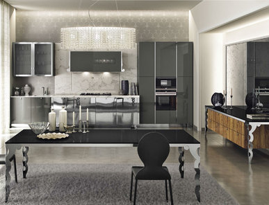 Итальянская кухня VOGUE 07 фабрики DOIMO CUCINE