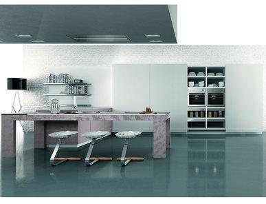 Итальянская кухня Modà Hole фабрики ENNE GROUP