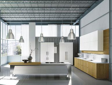 Итальянская кухня Modà Loft фабрики ENNE GROUP