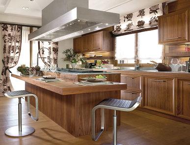 Итальянская кухня EMOTION WALNUT фабрики FAOMA