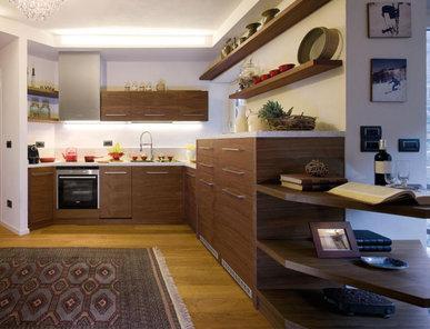 Итальянская кухня TREND WALNUT фабрики FAOMA