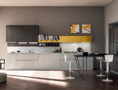 Итальянская кухня VOLUMIA 03 фабрики FEBAL CASA