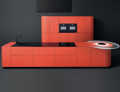 Итальянская кухня ARGENTO VIVO фабрики GED CUCINE