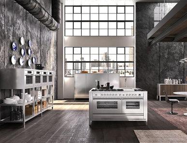 Итальянская кухня MODULAR TECHNO - METRO фабрики ILVE