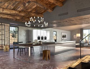 Итальянская кухня TECHNO ISOLA фабрики ILVE