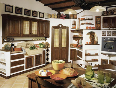 Итальянская кухня CECCO 03 фабрики LE CUCINE DEI MASTRI