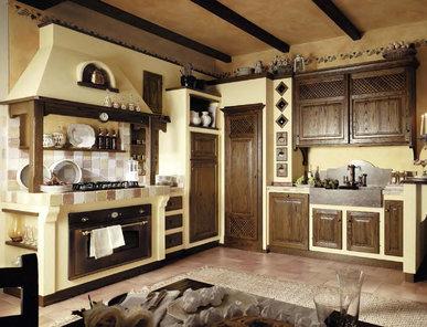 Итальянская кухня LEONE 02 фабрики LE CUCINE DEI MASTRI
