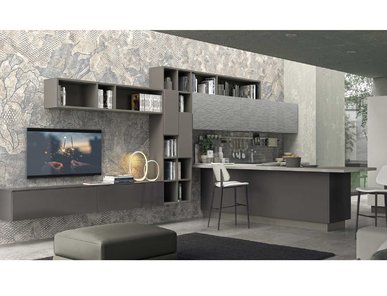 Итальянская кухня LUX 02 фабрики LUBE