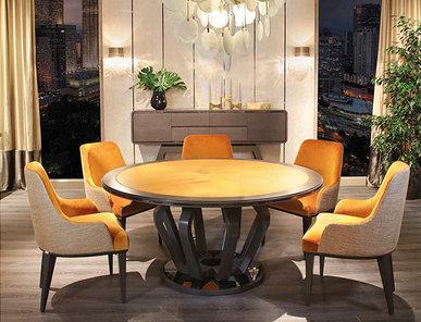 Итальянский стол и стулья EKANTA фабрики REDECO