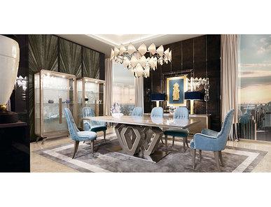 Итальянский стол и стулья EKANTA 23 фабрики REDECO