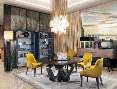 Итальянский стол и стулья EKANTA 10 фабрики REDECO