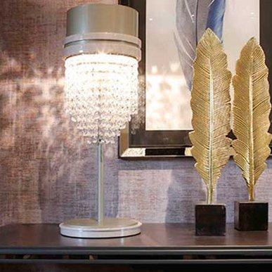 Итальянская настольная лампа 07 фабрики REDECO
