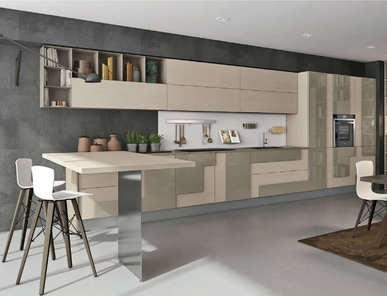 Итальянская кухня CREATIVA 07 фабрики LUBE
