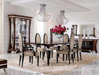 Итальянский стол и стулья EKANTA 45 фабрики REDECO