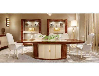 Итальянский стол и стулья UNIQUE 11 фабрики REDECO