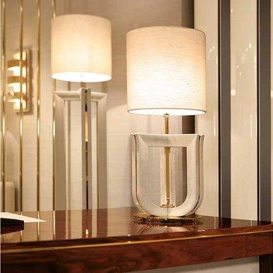 Итальянская настольная лампа Palazzo 07 фабрики REDECO