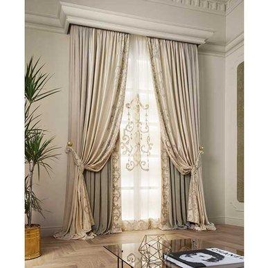 Итальянские шторы и тюли PRESTIGE 01 фабрики Chicca Orlando