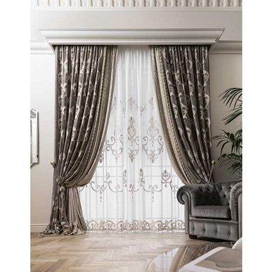 Итальянские шторы и тюли PRESTIGE 03 фабрики Chicca Orlando