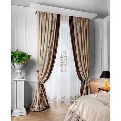Итальянские шторы и тюли ART NOUVEAU фабрики Chicca Orlando