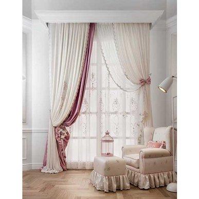 Итальянские шторы и тюли KATE фабрики Chicca Orlando
