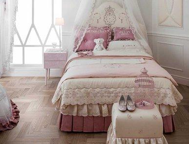 Итальянский тeкстиль для спален KATE  фабрики Chicca Orlando