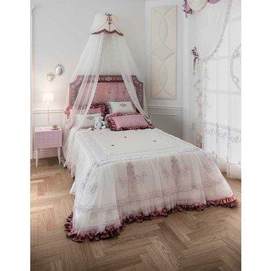 Итальянский тeкстиль для спален SOFIA 01 фабрики Chicca Orlando