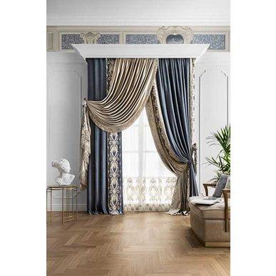 Итальянские шторы и тюли Royal фабрики Chicca Orlando