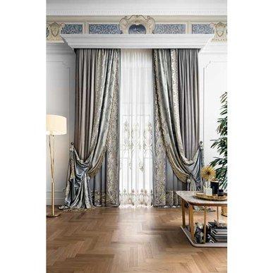 Итальянские шторы и тюли Royal 01 фабрики Chicca Orlando