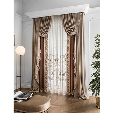 Итальянские шторы и тюли Romance фабрики Chicca Orlando