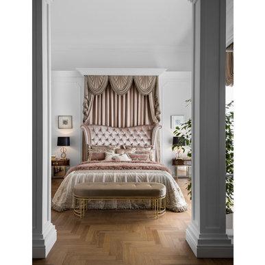 Итальянский тeкстиль для спален Romance фабрики Chicca Orlando